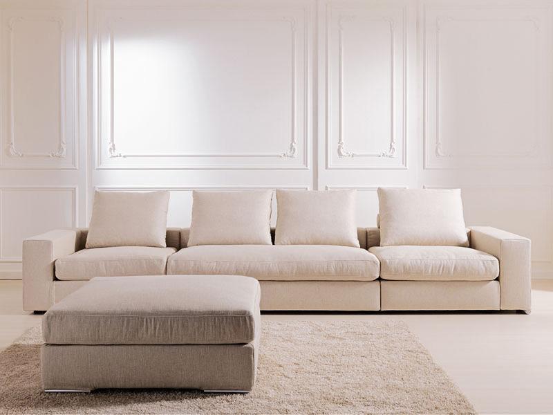 Domino, Removable and modular sofa, for studio and living room