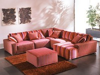 Mino, Repositionable corner sofa, removable covers, for stays
