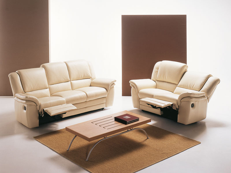Lincoln, Ergonomic and comfortable sofa, with tilting seat