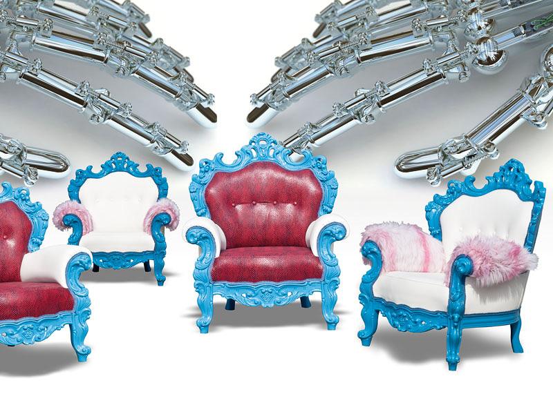 Alkymist, Luxury classic armchair, with high visual impact