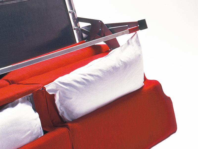 Minerva, Convertible sofa, guest bed, for apartments
