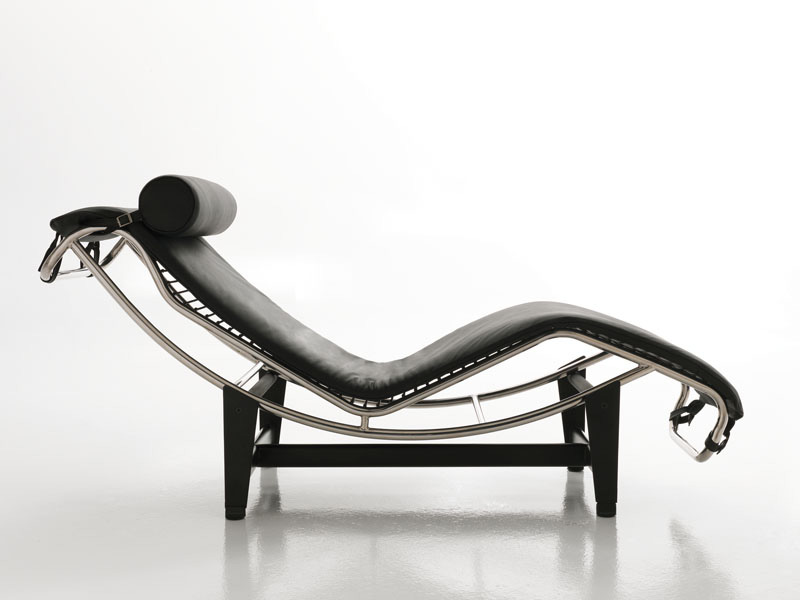 Merveilleux Tiffany, Tilting Chaise Longue, Design, In Leather, For Office