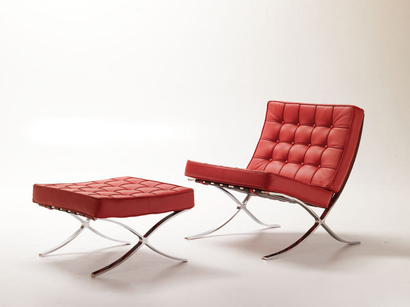 Linda, Design armchair, modern and comfortable, quilted, for waiting area
