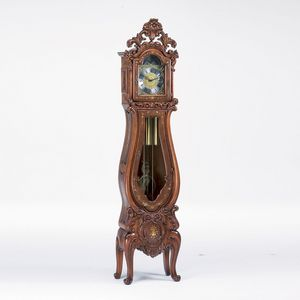 Art. 511/3, Grandfather clock in Baroque style, hand carved