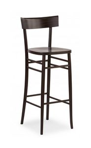 B09SG, Beech barstool for bars and pubs