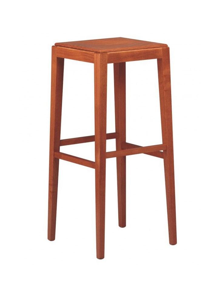 C08SG, Linear wooden barstool for bars and restaurants
