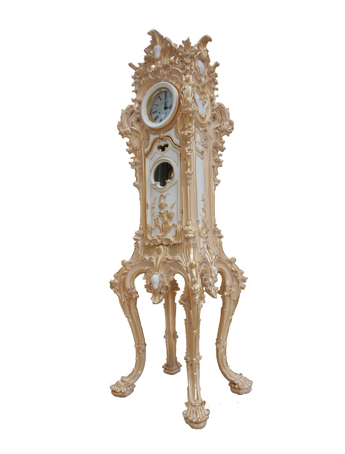 Grandfather clock, Grandfather clock, hand carved, for luxury rooms