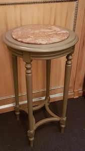 1135 SMALL TABLE, Coffee table with marble top, outlet price