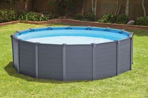 Above ground pool Intex - 28382, Above-ground pool with panels in hard resin