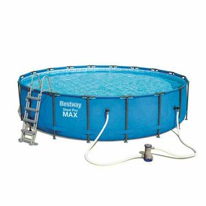 Bestway 56462 Round Above Ground Frame Pool 549x122cm - 56462, Round above ground pool