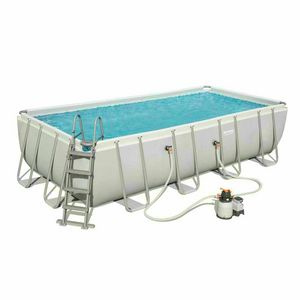 Bestway 56466 Above Ground Frame Pool Rectangular 122x274x549cm - 56466, Rectangular above ground pool