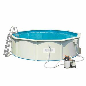 Bestway Hydrium 56384 Round Above Ground Pool 460x120 cm - 56384, Above ground pool, for garden