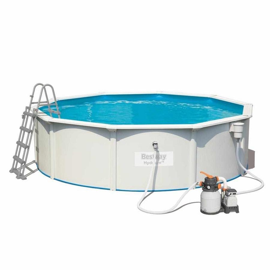 Bestway Hydrium 56384 Round Above Ground Pool 460x120 cm - 56384, Above ground pool, for garden