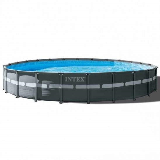 Intex 26334 610x122 Round Above Ground Pool of Ultra XTR Frame - 26334, Round above ground pool