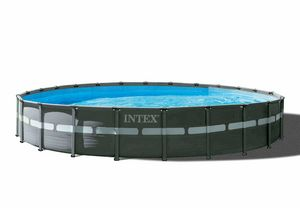 Intex 26340 Ultra XTR Frame Above Ground Round Pool 732x132cm - 26340, Large round swimming pool