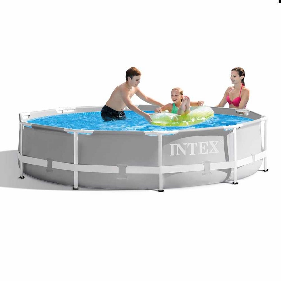 Intex 26702 ex 28702 Prism Frame Above Ground Pool Round 305x76cm - 26702, Round above ground pool