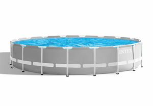 Intex 26732 ex 26752 Prism Frame Round Above Ground Pool 549x122 cm - 26732, Large round garden swimming pool