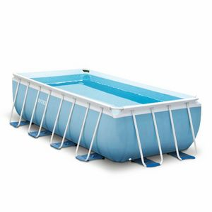 Intex 26792 ex 26778 Prism Frame Above Ground Pool Rectangular 488x244x107cm - 26792, Large removable swimming pool