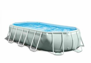 Intex 26796 Tube-Shaped Oval Above Ground Pool 503x274x122cm - 26796, Oval garden swimming pool