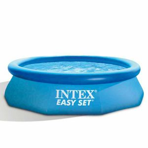 Intex 28122 Easy Inflatable round above ground pool set 305x76 - 28122, Inflatable pool with water filter