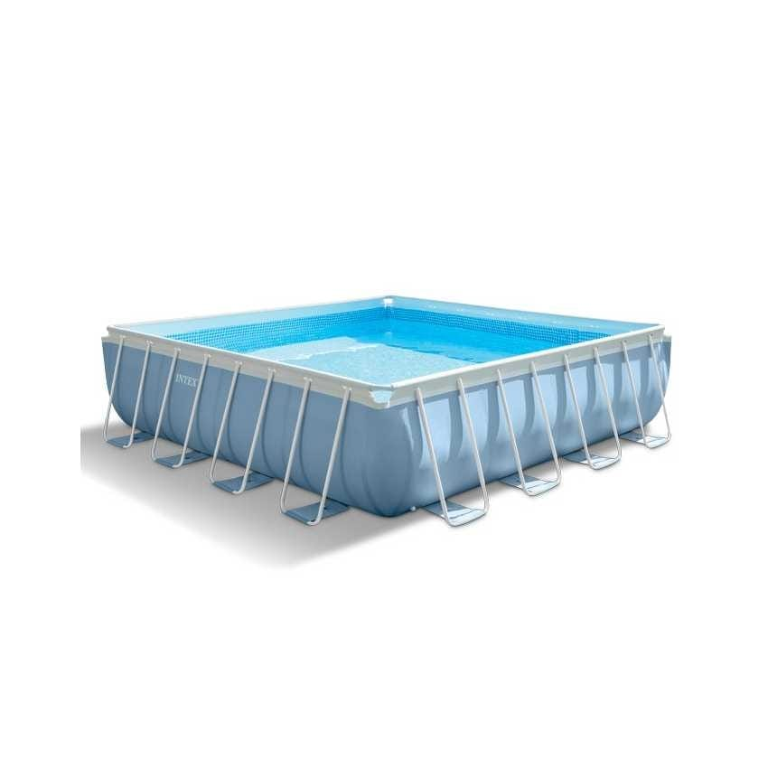Intex above ground pool - 28764, Square-ground swimming pool, with 3 layers pvc