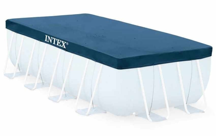 Intex Swimming Pool 26364 Ex 26362 Ultra Large Rectangular Frame 732x366x132, Above ground pool with filter pump