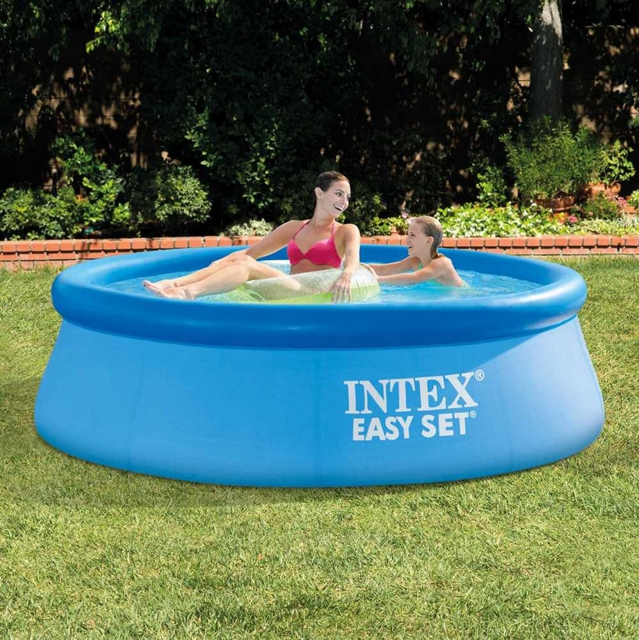 PVC Inflatable pool Intex 28112 244x76 Round Above Ground With Filter Pump - 28112, Economic and practical round swimming pool