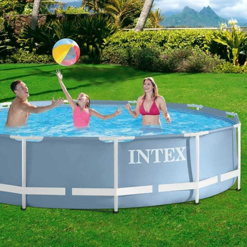 Round pool Intex 28712 Prisma Frame 366cm with filter pump - 28712, Above ground pool, steel structure