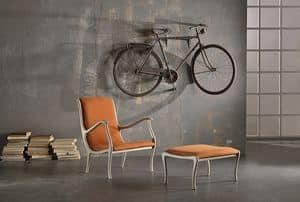 AMELIE armchair 8399A, Classic armchair with customizable finishings