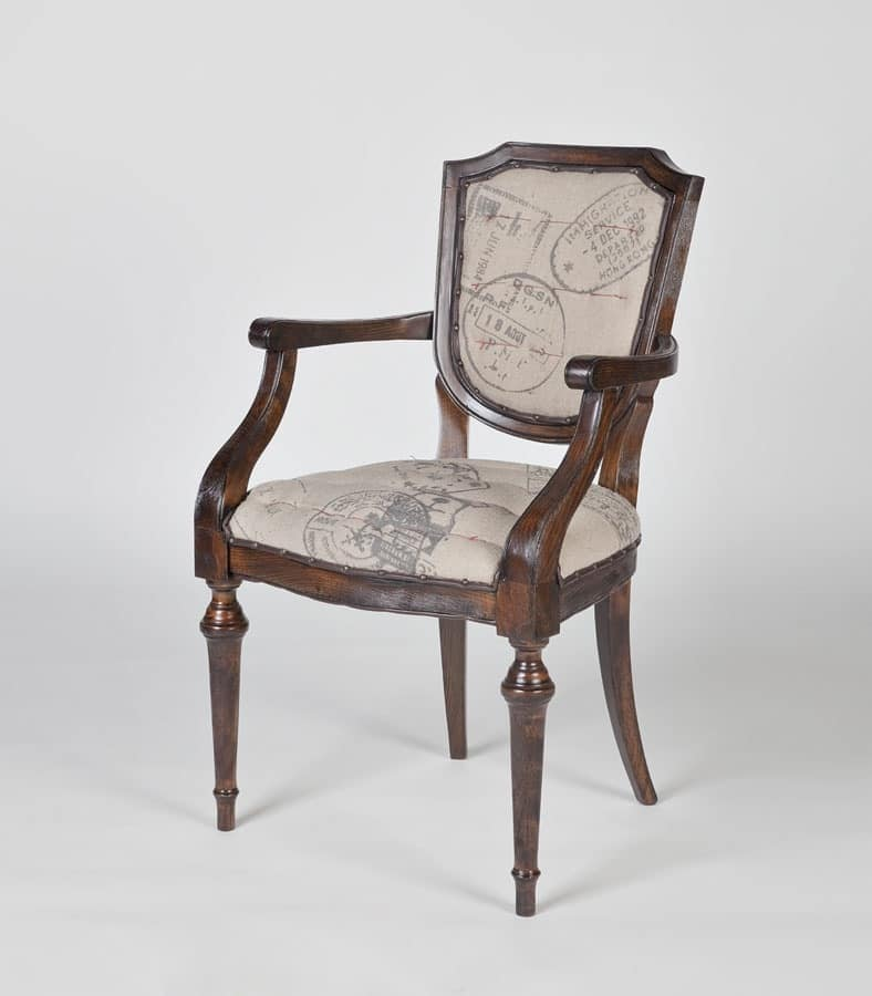 Art. 583, Head of the table chair for classic dining room