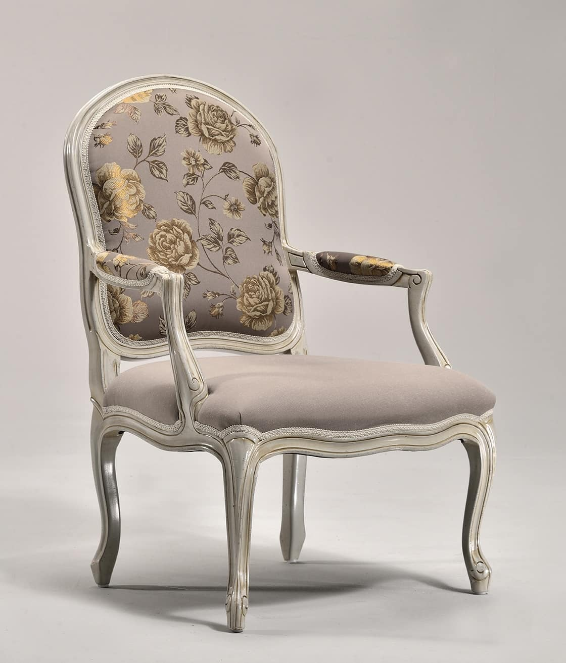 MILADY armchair 8654A, Padded armchair, for traditional style sitting room