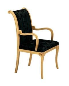 S13, Classic upholstered chair, for refined lounges and restaurants