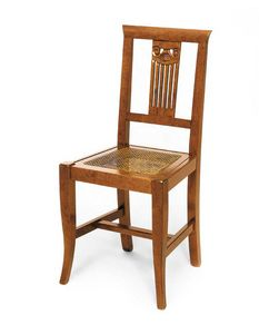 Art. 122, Wooden chair, back with classic style decorations