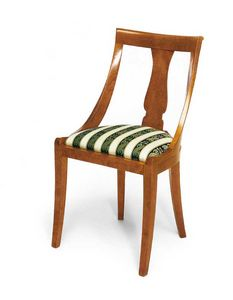 Art. 144, Classic style chair, with comfortable padded seat