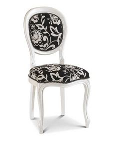 Art. 156, Lacquered chair with round back