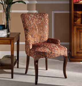 Napoleone chair, Padded wooden chair