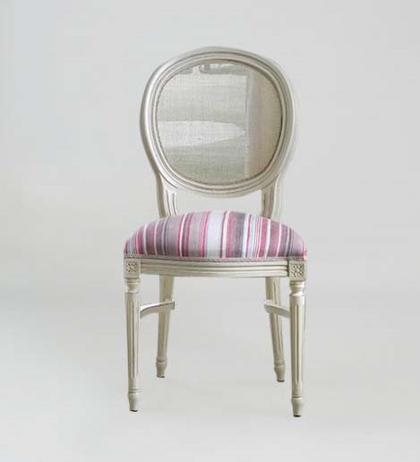 S07STK, Classic chair with round back in cane