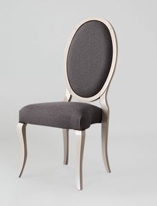 S16, Elegant chair with oval back