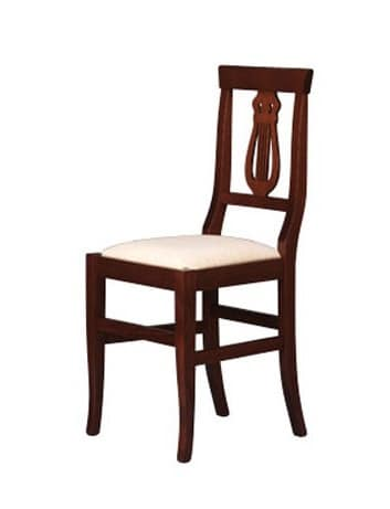 180, Solid beechwood chair for dining room and restaurant