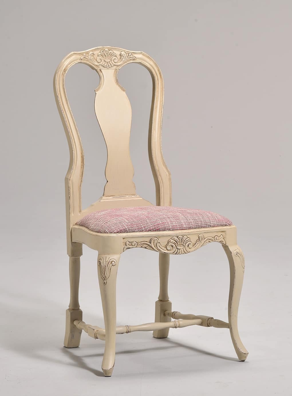 MALENE chair 8124S, Gustavian style chair with padded seat