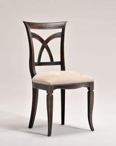 VICTORY chair 8092S, Classic style chair with padded seat