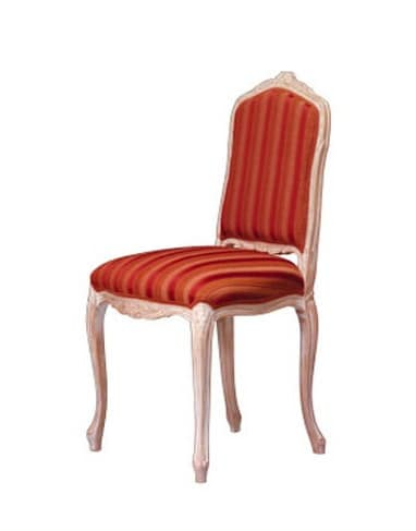1004, Classic chair in worked beech, for style hotel