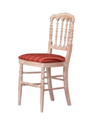 1070, Traditional dining chair, worked back, for Hotel