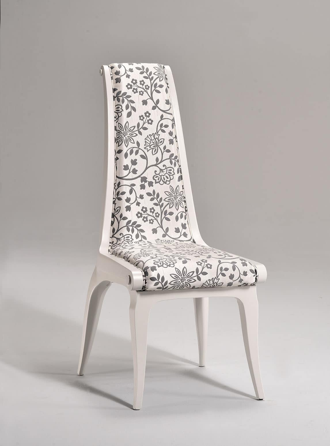 AFRODITE chair 8291S, Classic style chair, padded seat and backrest