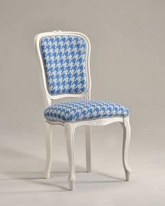 BRIANZOLA chair 8017S, Chair in Louis XV style, for elegant conference room