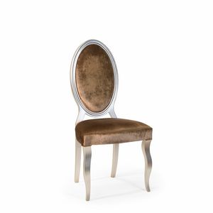 Chantal Art. 645, Chair with oval back