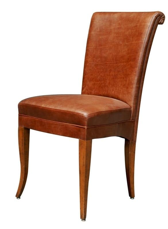 Colorado BR.0777, Classic style chair with padded seat and back