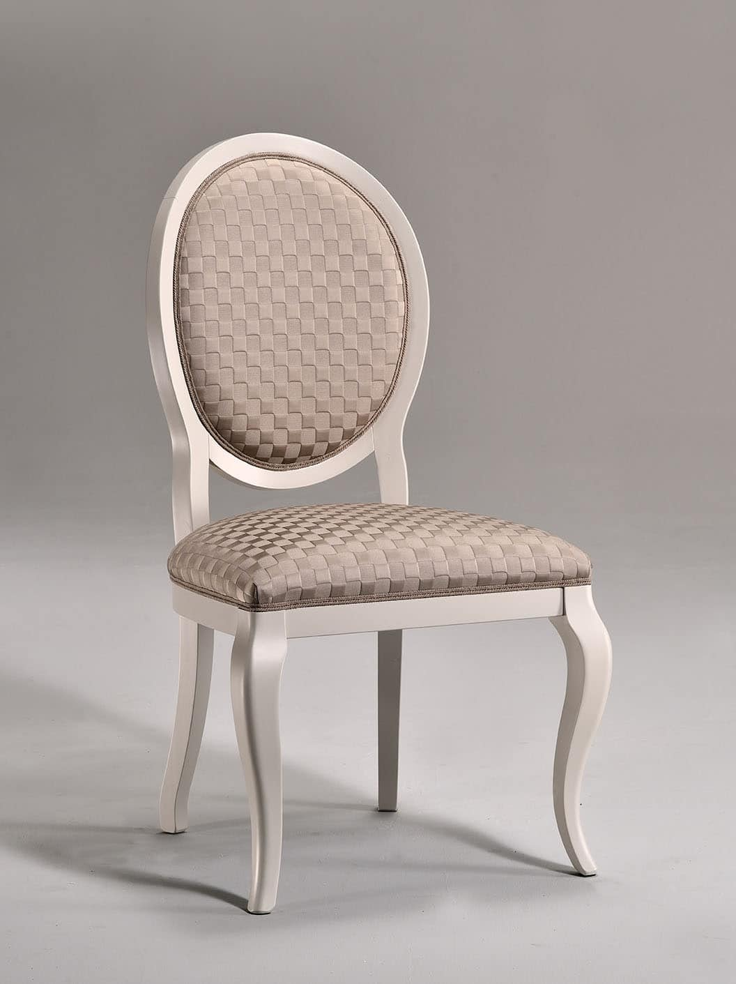 LICA chair 8432S, Dining chair, upholstered seat, for living room