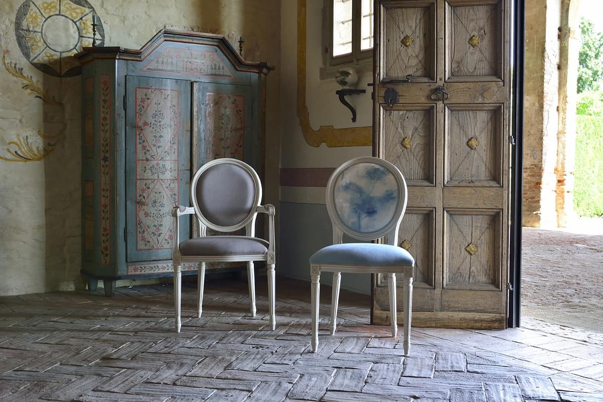 LUIGI XVI chair 8023S, Dining chair, traditional design, for restaurant
