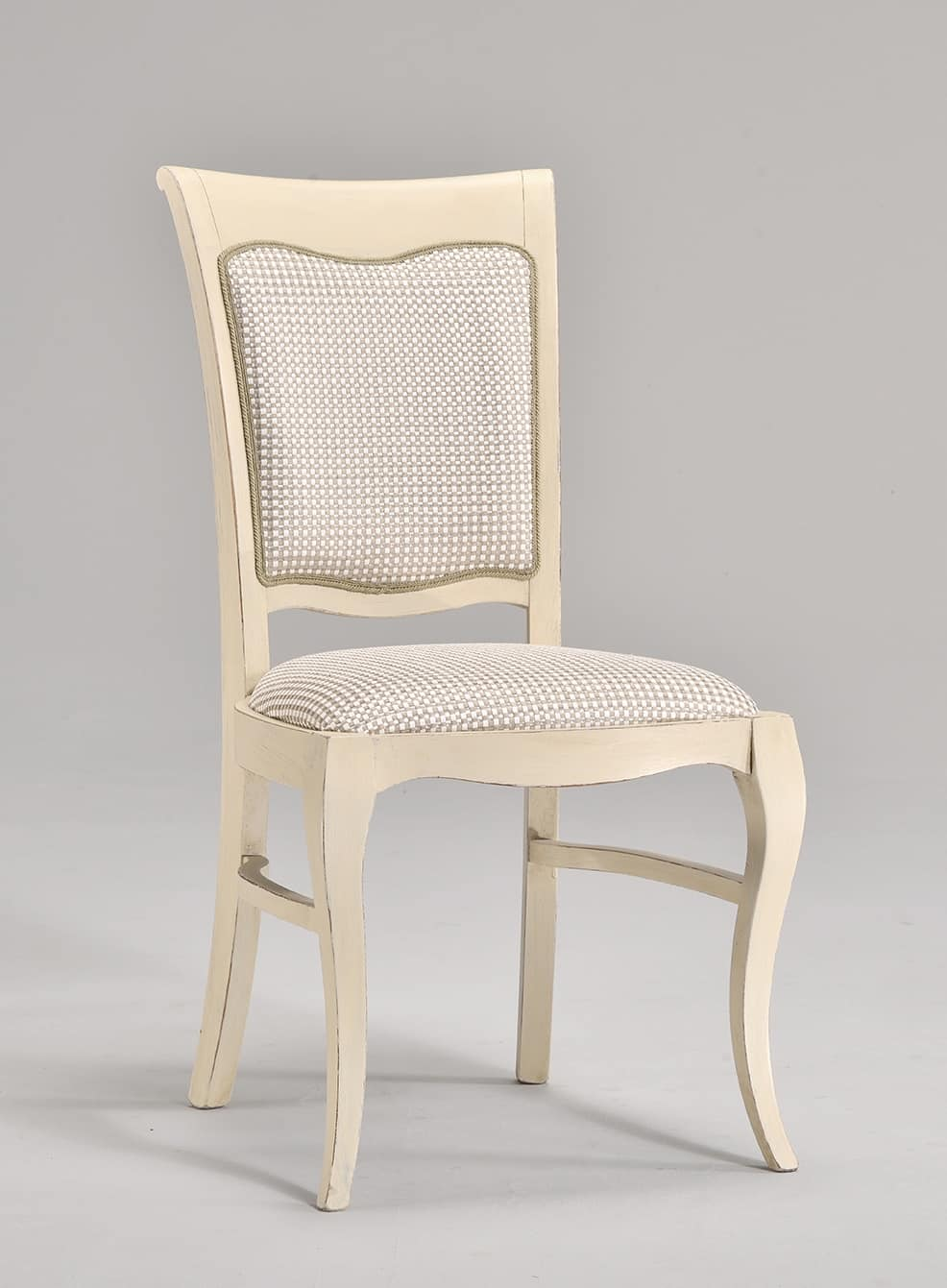 MILUNA chair 8314S, Padded chair for classic style living rooms